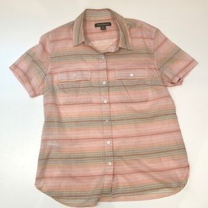 Tommy Bahama sz S Button Up Collared Blouse